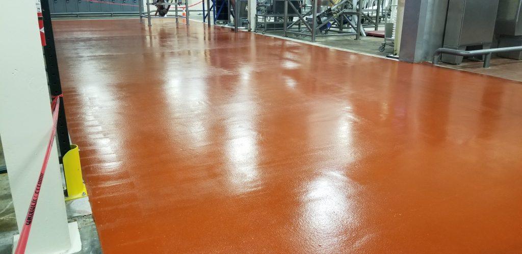 urethane cement mortar flooring